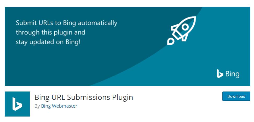 Bing URL Submission Plugin  WordPress