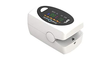 BPL Medical Technologies Smart Oxy 04 Fingertip Pulse Oximeter with Perfusion Index