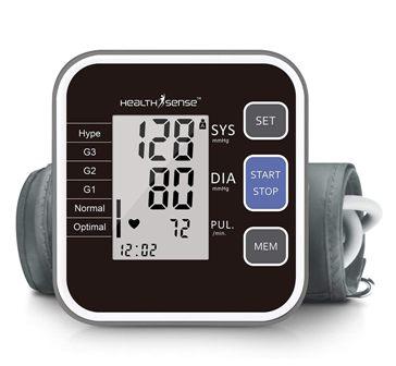 HealthSense Heart Mate Classic BP120 Digital Blood Pressure Monitor