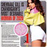 शहनाज गिल (Shehnaaz Gill) बनीं 'Chandigarh's most desirable woman of 2020'
